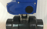 星图测速网址_UPVC电动塑料球阀Q911F-10S图片