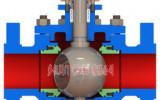 星图登录网址_O型球阀内部结构示意图